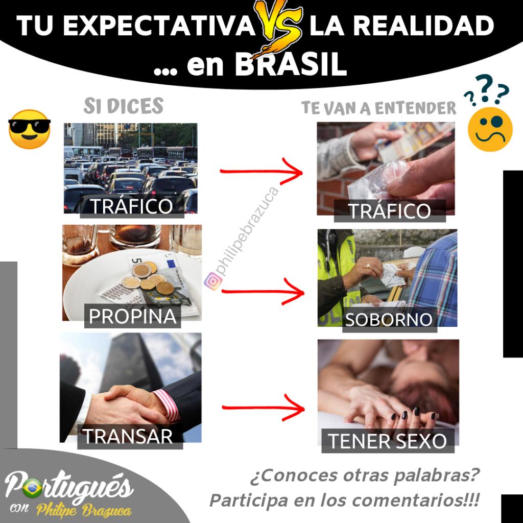 falsos amigos / falsos cognatos portugués español
