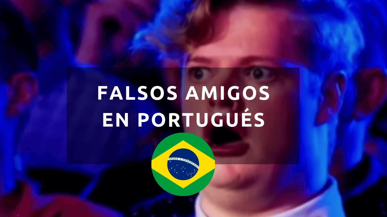 lista de falsos cognatos portugués español